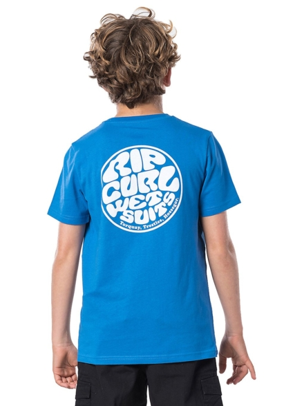 Rip Curl Wettie T-Shirt blauw