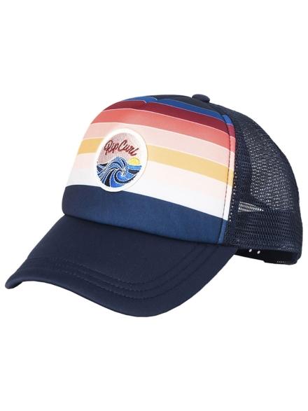 Rip Curl Keep On Surfin Trucker petje blauw