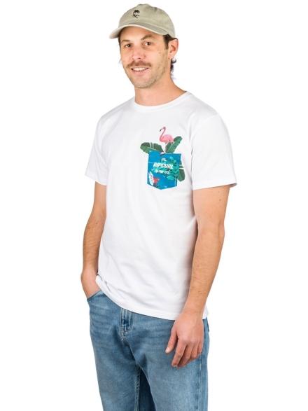 Rip Curl In Da Pocket T-Shirt wit