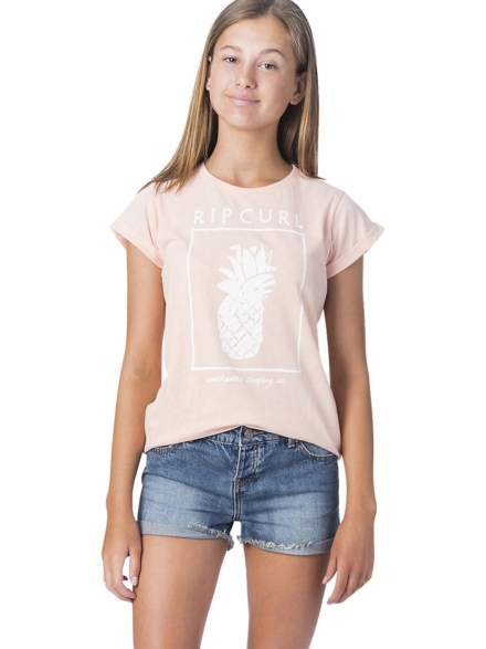 Rip Curl Pineapple T-Shirt roze