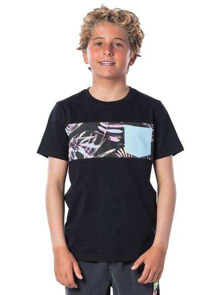 Rip Curl Block Pocket T-Shirt zwart
