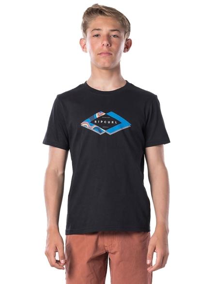 Rip Curl Diamond Filter T-Shirt zwart