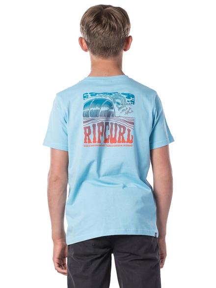 Rip Curl Entrance Wave T-Shirt blauw
