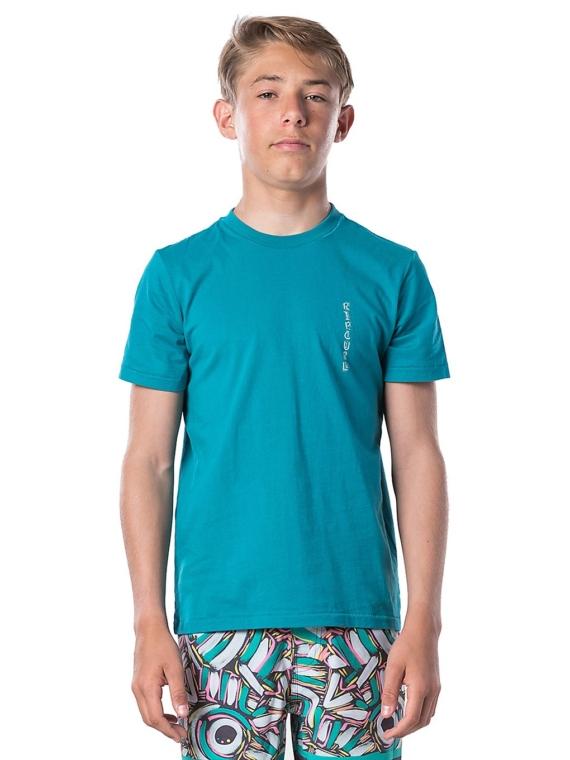 Rip Curl K-Fish Art T-Shirt blauw