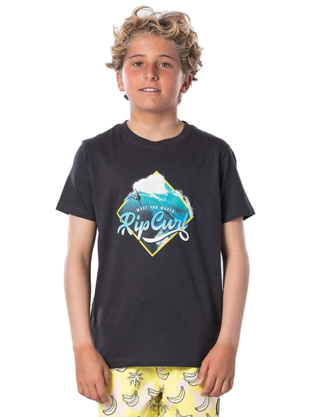 Rip Curl Action Photo T-Shirt zwart