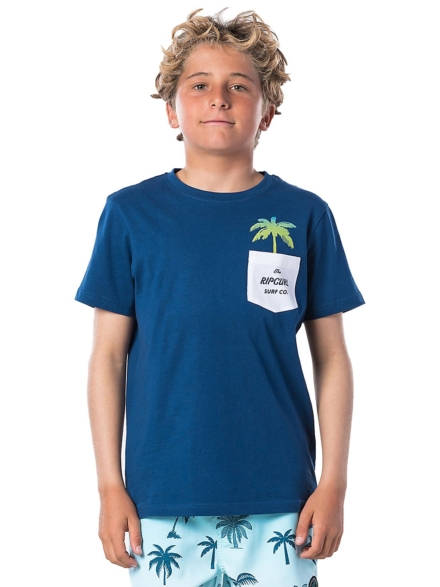 Rip Curl Fashion Pocket T-Shirt blauw