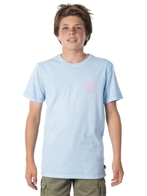 Rip Curl Native Glitch T-Shirt blauw