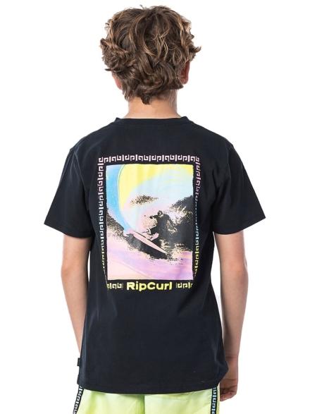 Rip Curl OG Glitch T-Shirt zwart