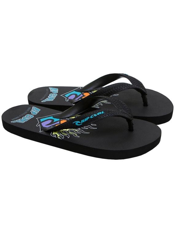 Rip Curl Aloha slippers zwart