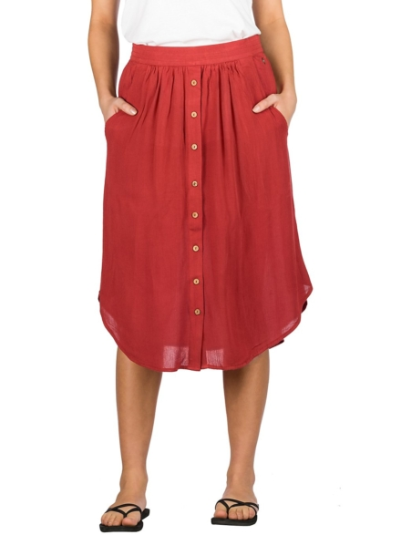 Rip Curl Oasis Muse Skirt rood