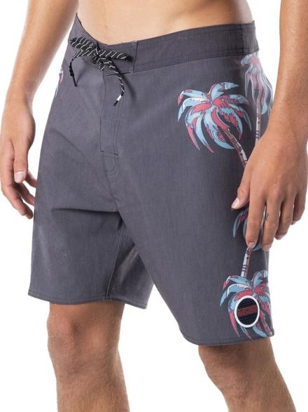 Rip Curl Mirage Palm Strip Boardshorts zwart