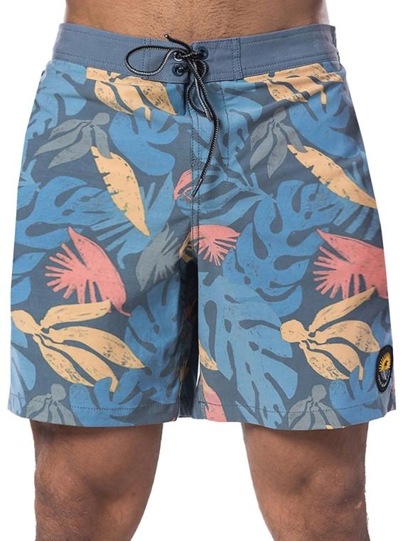 Rip Curl Semi-Elasticated Saltwater 17′ Boardshorts blauw
