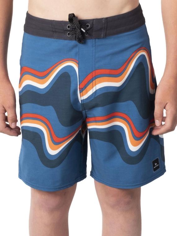 Rip Curl Mirage Owen Swirl Boardshorts blauw