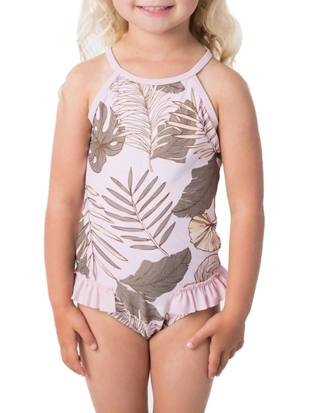 Rip Curl Mini Paradise Cove Swimsuit paars