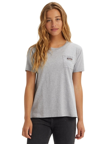 Burton Classic Pocket T-Shirt grijs