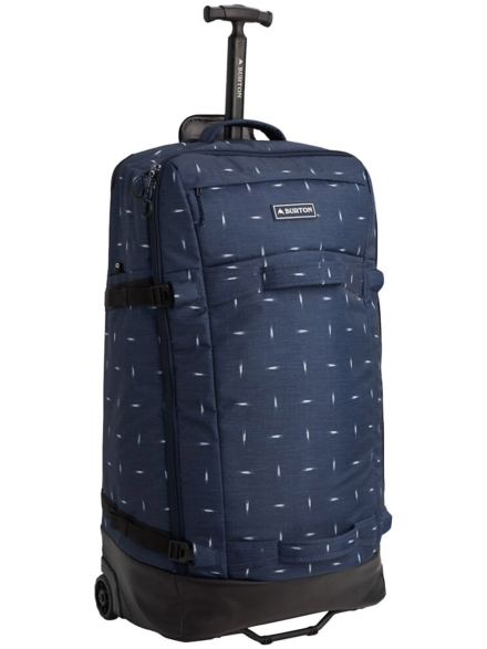 Burton Multipath Checked Travel tas blauw