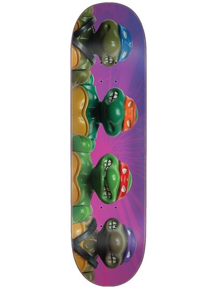 "Santa Cruz TMNT Figures Everslick 8.5"" Deck paars"