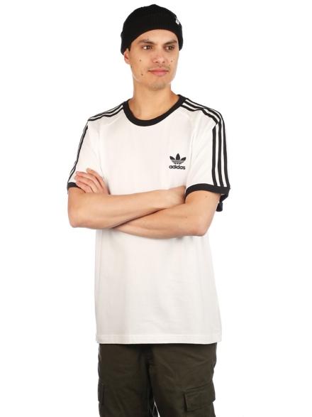 adidas Skateboarding 3 Stripes T-Shirt wit