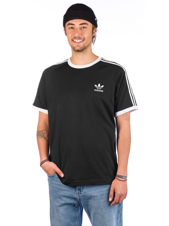 adidas Skateboarding 3 Stripes T-Shirt zwart