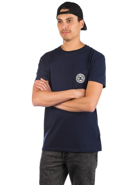 DC Basic Pocket T-Shirt zwart