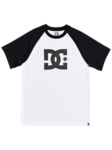 DC Star Raglan 2 T-Shirt wit