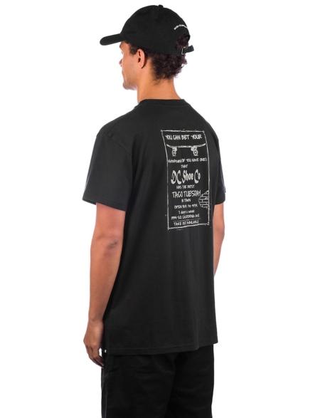 DC Taco Tuesday T-Shirt zwart