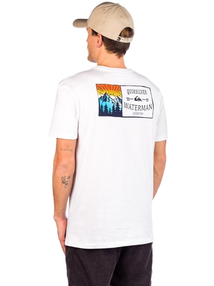 Quiksilver The High Road T-Shirt wit