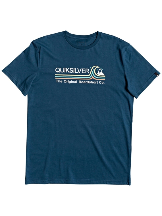 Quiksilver Stone Cold Classic T-Shirt blauw