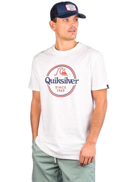 Quiksilver Words Remain T-Shirt wit