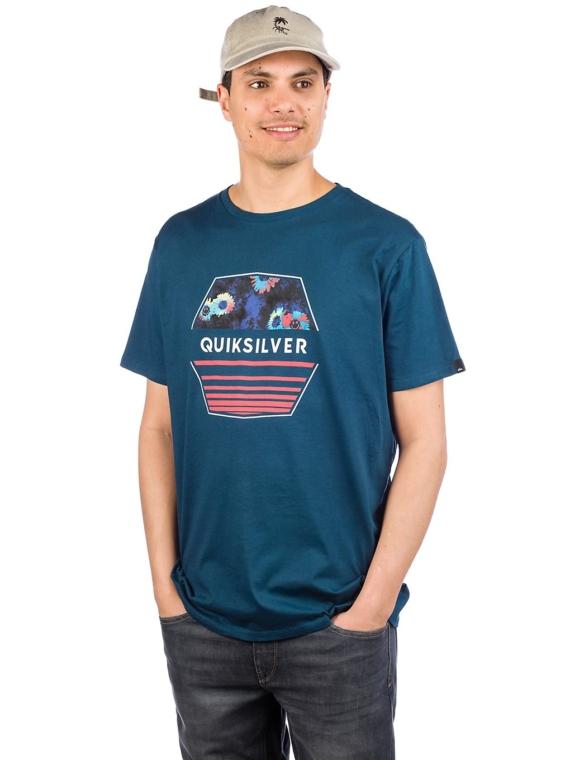Quiksilver Drift Away T-Shirt blauw