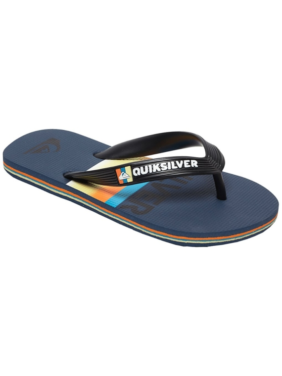 Quiksilver Molokai Slab slippers zwart