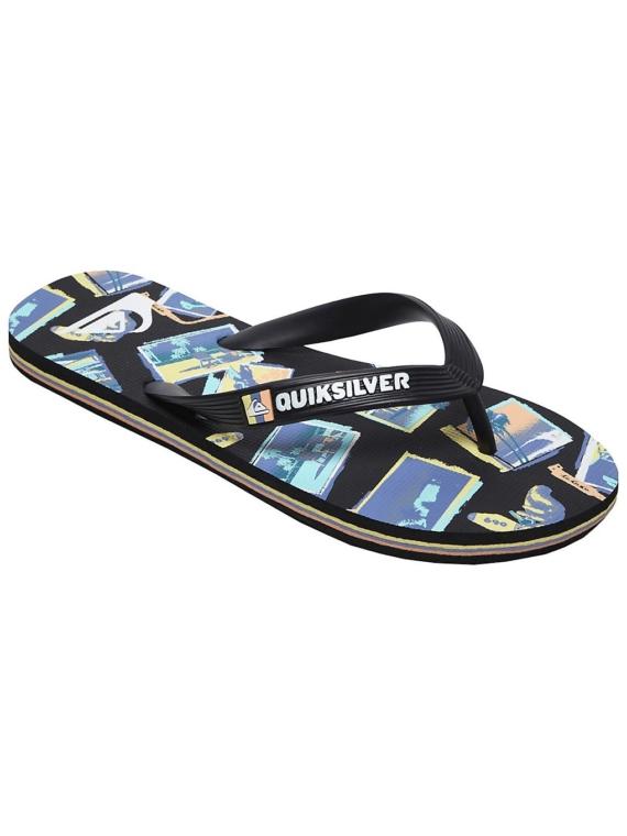 Quiksilver Molokai Vacancy slippers zwart