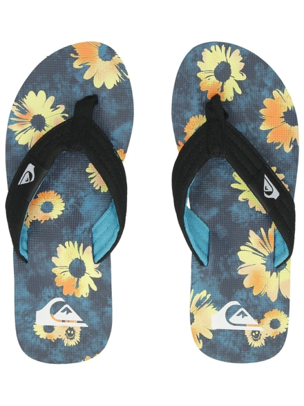 Quiksilver Molokai Layback slippers zwart