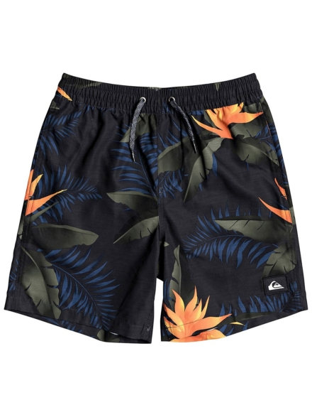 Quiksilver Poolsider Volley 15 Boardshorts zwart