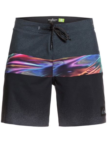 Quiksilver Highline Hold Down 18 Boardshorts zwart
