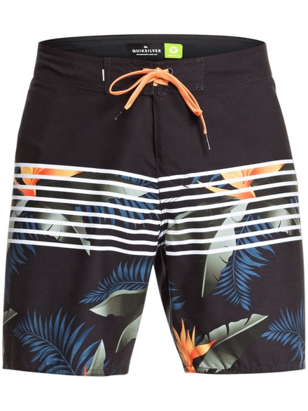 Quiksilver Everyday Lightning 17 Boardshorts zwart