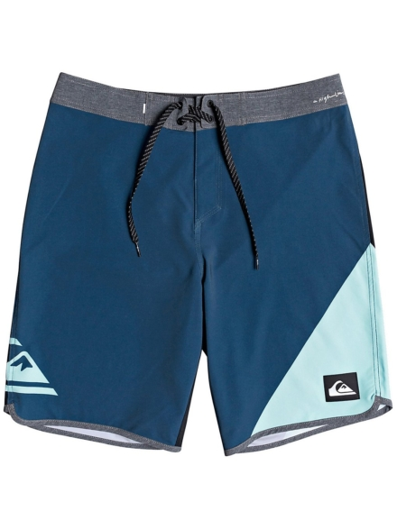 "Quiksilver Highline New Wave 20"" Boardshorts blauw"