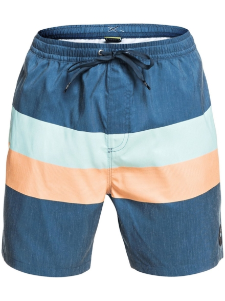 Quiksilver Seasons Volley 17 Boardshorts blauw