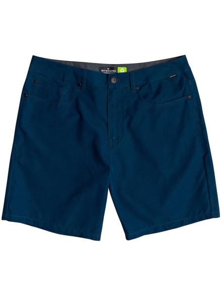 Quiksilver Nelson Surfwash Amphibian 18 Boardshorts blauw