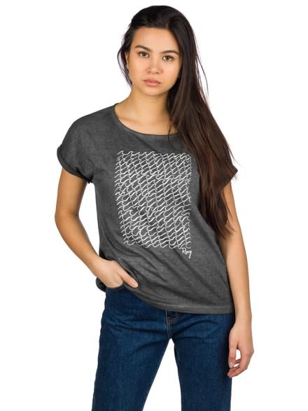 Roxy Summertime Happiness T-Shirt grijs