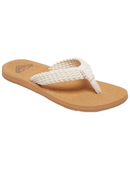Roxy Porto III slippers bruin