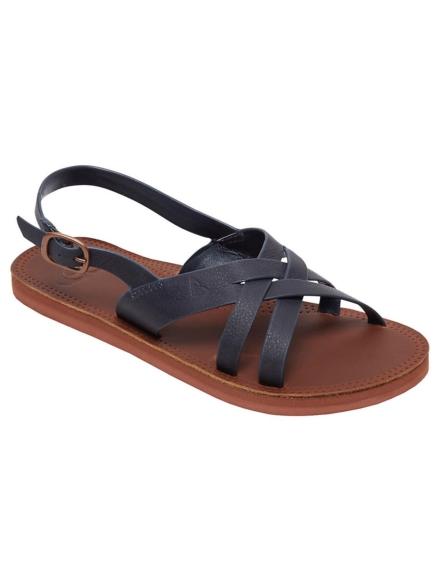 Roxy Tonya slippers blauw