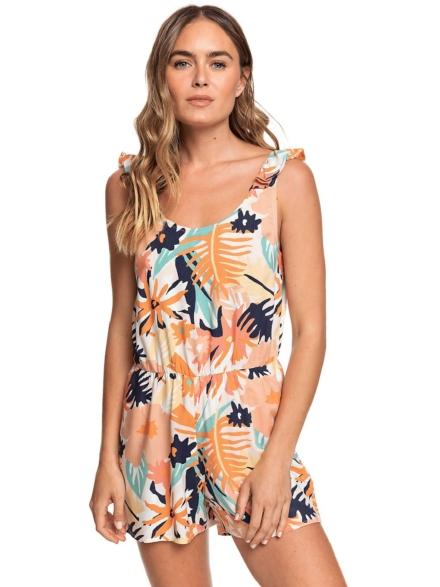 Roxy Rainbow Palm Overall oranje