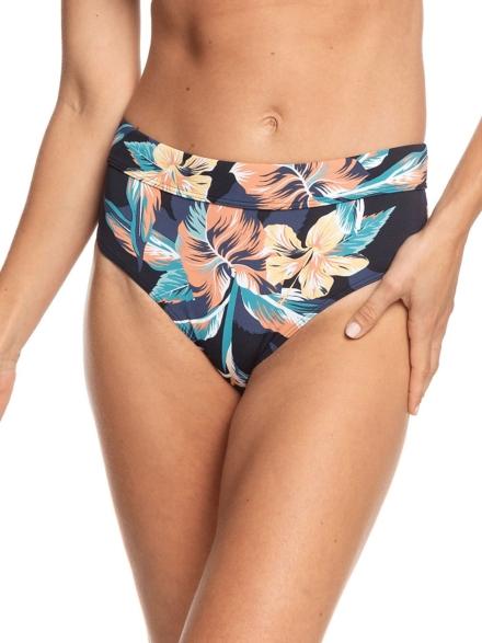 Roxy PT Beach Classics Full Mid Bikini Bottom grijs