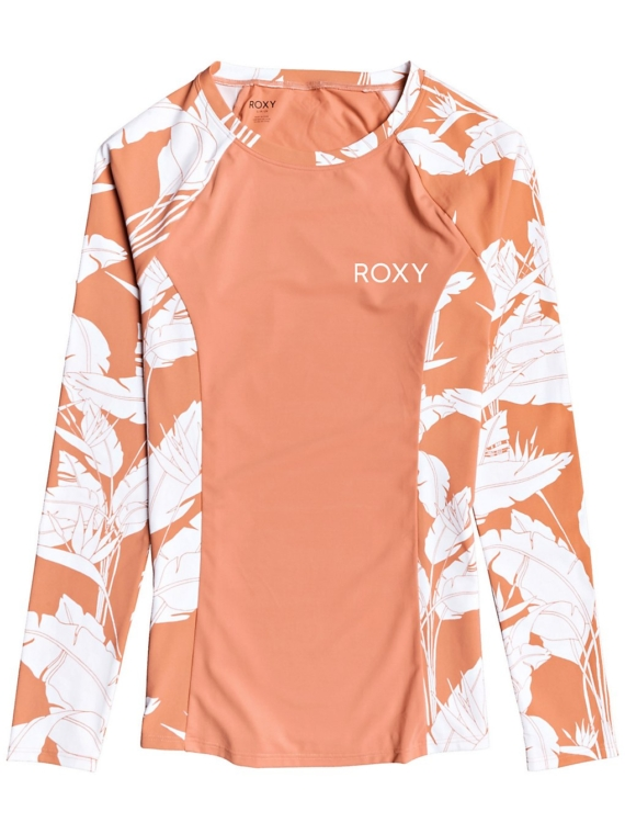 Roxy Fashion Pannel Longsleeve Lycra patroon