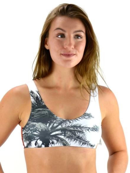 Akela Surf Bikini Top wit