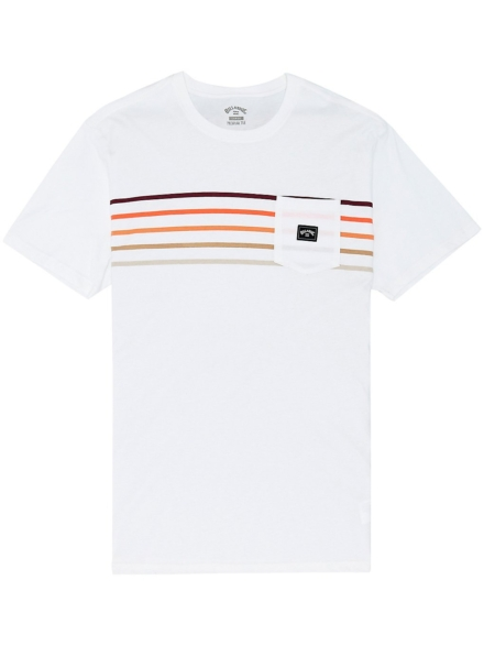Billabong Riot Spinner T-Shirt wit