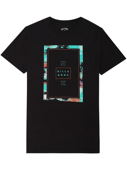 Billabong Tucked T-Shirt zwart