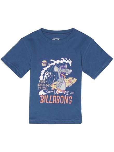 Billabong Rat Local Toddler T-Shirt blauw