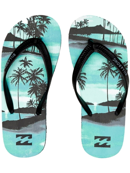 Billabong Tides Print slippers blauw